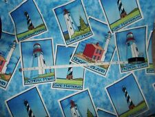 Nurse uniform scrub top xs small medium large xl 2x 3x 4x 5x Lighthouse Postcard