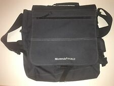 DICKIES Black Canvas NINTENDO WORLD Laptop Bag Shoulder Satchel Case 15x15x5