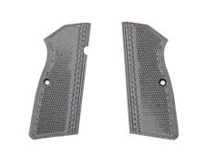 Pachmayr G10 Gray/Black Checkered Grips for Browning Hi Power Pistols 61261