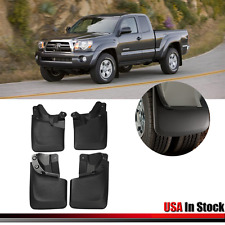 TOYOTA TACOMA MUD FLAPS 2016-2017 MUD GUARDS SPLASH FLARES 4 PIECE FRONT & REAR
