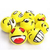 2X Jouet Squeeze Balle Ballon Exercise Anti-stress Relax Pression Cadeau Enfant