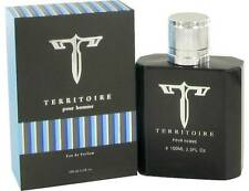 TERRITOIRE POUR HOMME FOR MEN-EDT-SPRAY-3.3 OZ-100ML-AUTHENTIC-MADE IN USA