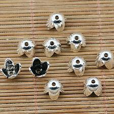 25pcs Tibetan silver plated flower bead caps EF1325