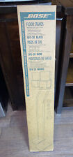 BOSE UFS-20 BLACK FLOOR SPEAKER STANDS NEW IN BOX SEALED 017628