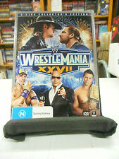 WWE - WrestleMania XXVII Collector's Edition 3-Disc DVD Set