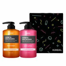 KUNDAL Body Gift Set Cherry Blossom Scent - Body Wash 16.9oz&Body Lotion 16.9oz