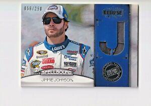 2011 Press Pass Eclipse Spellbound Swatches #SBJJ1 Jimmie Johnson J/250