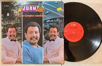 Juan Pina Y Su Orquesta - Los Tiempos Cambian LP CBS Colombia Cumbia Merengue