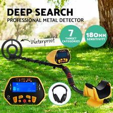 Metal Detector Deep Sensitive LCD Searching Gold Digger Treasure Hunter