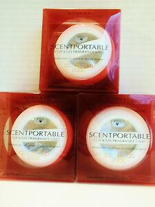 Bath Body Works Slatkin Scentportable CINNAMON STICK Refill, Clip & Go, NEW x 3