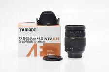 Tamron A09 AF 28-75mm F2.8 SP XR Di LD ASPH IF Macro Lens Nikon #990
