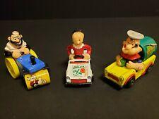 Vintage 1980 Matchbox Lesney Series#13 14,15 Popeye, Bluto, Olive Oil