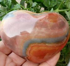 256 g Natural Energy Stone Sea Stone Ancient Rock Specimen Heart-shaped  N1816