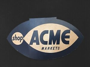 Vintage Acme Super Markets Advertising Needle Case, Made In West Germany