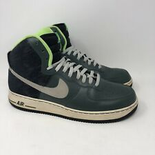 Nike Air Force 1 High 315121-302 Lime Green/Forest Green - Size 13