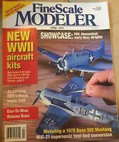 FineScale Modeler Magazine - April 1995