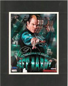 Jeff Hardy Signed 8x10 Photo WWE TNA Wrestling Autographed Raw Tristar