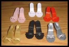 """SAVE 25% on 6 Pair of 2-1/8""""x7/8"""" SHOES for Miss Revlon CISSY 22""""American Models"""