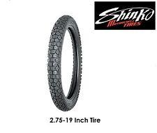 Shinko 2.75-19 Tire SR244  Street Dirt On-Road Off-Road Yamaha TTR125L TTR125LE