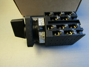 Eaton Moeller T0-5-15251/E 10 Pos Selector Switch Step 20A