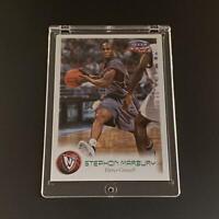 STEPHON MARBURY 1999 FLEER FOCUS #13 EMERALD PARALLEL CARD  #'D /300 NBA