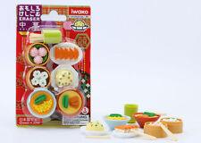 IWAKO JAPANESE ERASERS CHINESE Restauant DIM SUM Blister Set