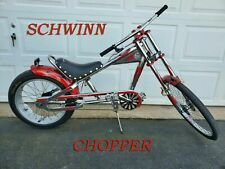 "Schwinn Chopper Red Bike Bicycle Occ Orange County TV Show 20"" Stingray New Bike"