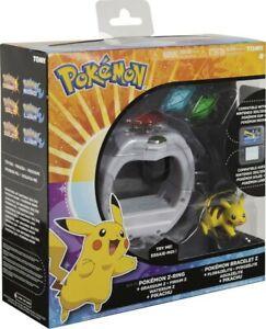 NEW Tomy Pokémon Pokemon Z-Ring Bracelet Pikachu Set Nintendo 3DS 2DS Sun Moon