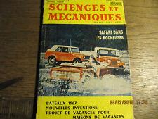 Revue Sciences et Mécaniques N°253 JUIN 1967