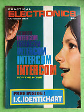 PRACTICAL ELECTRONICS - Magazine - October 1972 - Intercom For The Home