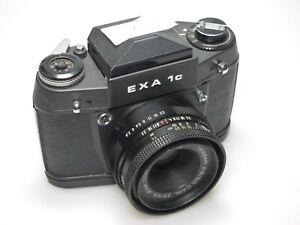 Exa 1c + Carl Zeiss Tessar 50mm F2.8 BLACK