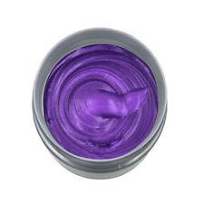 DIY Unisex Hair Color Wax Mud Dye Cream Temporary Modeling Fashion Grey 8 Colors