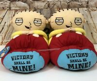 Family Guy Stewie Slippers XL 13 NEW Novelty Head Shape Unisex Shoe 3D plush