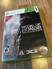 Medal Of Honor Limited Edition Xbox 360 Cib Game VC6