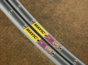 "Retro Kult set NOS NEW Mavic 220 36 hole clincher rimset rims 26"" MTB"