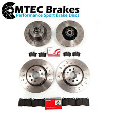 Renault Megane Coupe RS 250 265 Trophy 275 Front Rear Brake Discs & Brembo Pads