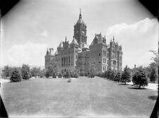 CITY-COUNTY GOVERNMENT BUILDING - SALT LAKE CITY - 1910 Tibbitts Glass Negative