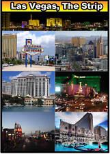 Las Vegas Striscia - GRANDE calamita da frigo - NUOVO