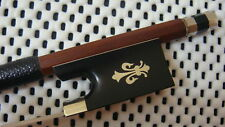 Silver Mount/A Pernambuco Violin Bow Ebony Frog - Sword