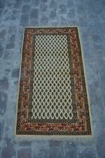Elegant Afghan vintage baluchi rug / 100% wool hand knotted tribal afghan rug