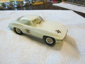 Used Vintage Revell 1/32 Scale '65' Stingray Slot Car White (see pictures)
