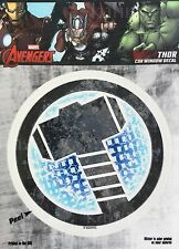 Marvel Avengers Thor Car Window Decal Sticker Auto -  Officially Licenesed