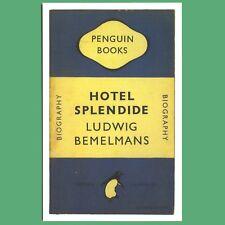 Postcard - Hotel Splendide by Ludwig Bemelmans - A  Penguin Book Cover Postcard