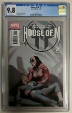 House of M #7 CGC 9.8 Wanda/Scarlet Witch & Quicksilver 1st Print