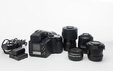 Mamiya AFD with 4 lens kit and 22 mp ZD digital Back