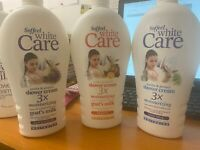 Soffeel White Care Shower Cream 3x moisturizing enriched with Goat Milk