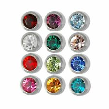 SURGICAL STEEL DOLPHIN LABRET LIP NOSE CHIN EAR STUD UK SELLER 10MM 1.6MM