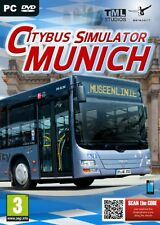 City Bus Simulator Munich (PC DVD) BRAND NEW SEALED