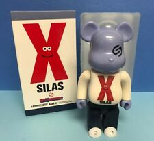 SILAS X Kubrick Flocked Be@rbrick 400% Medicom BEARBRICK Figure US SELLER