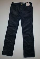 New Gymboree Flight of Fancy Line Navy Sparkle Skinny Corduroy Pants Size 7 Year